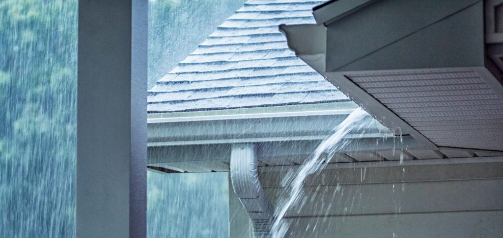 vazamentos no telhado